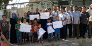 PKK/PYD'nin Dayattığı Eğitim Müfredatı Protesto Edildi!