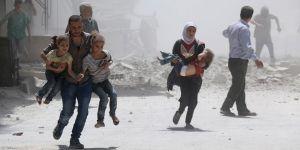 Esed'e Bağlı Güçler Doğu Guta'da Çocuklara Saldırdı!