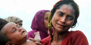 Kurban Kesmek İsteyen Arakanlı Müslümanlara Hindistan'da Saldırı