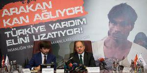 Arakan İçin Türkiye'de Yardım Kampanyası Başlatıldı
