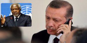 Cumhurbaşkanı Erdoğan Kofi Annan ile Arakan'ı Görüştü