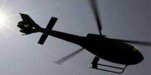 İran'da Askeri Helikopter Düştü