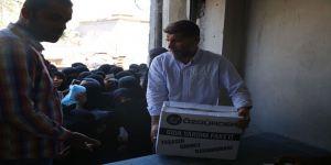 Özgür-Der ve Fetih-Der'den El-Bab'a 1000Koli Gıda Yardımı