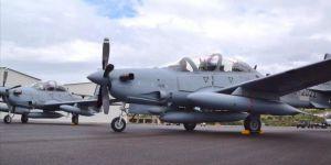 ABD Lübnan'a İki Savaş Uçağı Hibe Etti