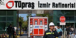 TÜPRAŞ İzmir Rafinerisi'ndeki Patlamaya İlişkin 7 Gözaltı