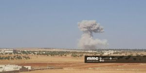 Katil Rusya İdlib'de Faylaku'ş-Şam Karargâhını Bombaladı