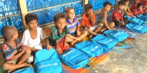 Bangladeş'teki Arakanlı Çocuklara Eğitim Umudu