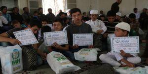 İdlibli 'Hafız Öğrenciler' Ödüllendirildi