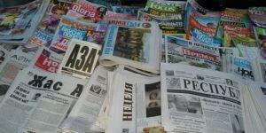 Kazakistan'da Latin Alfabesinde İlk Gazete Basıldı