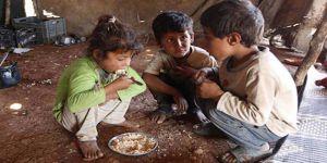 Doğu Guta'da Çocuklar Yarım Öğün Yemekle Gün Geçiriyor