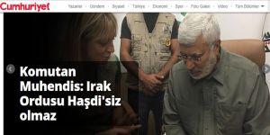 Cumhuriyet'in Şebbihası, Haşdi Şa'bi'den 'Barış ve Kardeşlik' Mesajları Getirmiş!
