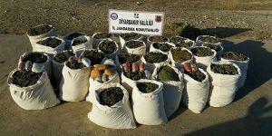 Diyarbakır'da 744 Kilogram Esrar Ele Geçirildi!