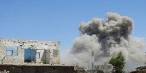 Rusya'dan İdlib'e Şiddetli Bombardıman
