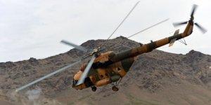 Taliban Afganistan'ın Nuristan İlinde Helikopter Düşürdü