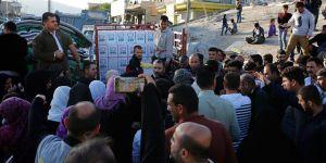 İHH'dan Süleymaniye'deki Depremzedelere Yardım