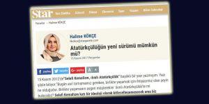 Normalleşme Atatürkçülüğün Yeni Sürümünü İçselleştirmek Değildir!