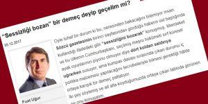 Davutoğlu'nu İtham Etmeye Kalkan Fuat Uğur'un Düştüğü Komik Durum!