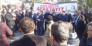 "Akhisar Sivil Dayanışma Platformu: ""Kudüs Onurumuzdur"""