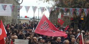 ABD'nin Kudüs Kararı Trabzon'da Telin Edildi
