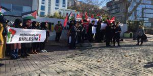 İstanbul Ticaret Üniversitesi'nde Kudüs Eylemi
