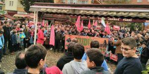 ABD'nin Kudüs Kararı Eynesil'de Protesto Edildi