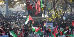 Kudüs ile Dayanışmak İçin İstanbul Halkı Meydanlardaydı!