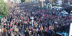 Kocaeli'de Binler Kudüs İçin Tek Yürek Oldu!