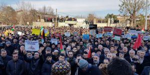 ABD'nin Kudüs Provokasyonu Muş'ta Protesto Edildi