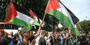 Trump'ın Kudüs Kararına Endonezya'da Protesto!