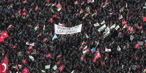 Saadet Partisi Yenikapı'da 'Kudüs İslam'ındır' Mitingi Düzenledi