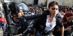 İşgalci İsrail Filistinli Göstericilere Saldırdı