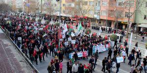 Niğde'de Kudüs İslam'ındır Yürüyüşü