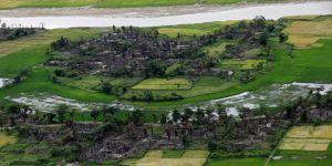 Arakan'da Ekimden Bu Yana 40 Köy Yakıldı