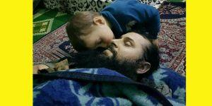 Bir Çocuğun Şehid Babasını Son Öpüşü...