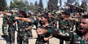 Esed'in Askerlerinden 'Mide Bulandıran' Askeri Seremoni