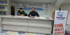 Tatvan Özgür-Der'de İskilipli Atıf Hoca Semineri Yapıldı