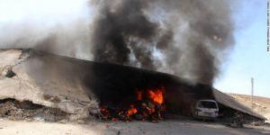 Esed ile Hamisi Rusya İdlib'de Kadın ve Çocukları Vurdu: 16 Ölü