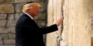 İsrail, Ağlama Duvarı'na Yapılacak Tren İstasyonuna Trump'ın Adını Verecek