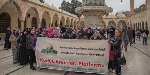 ABD ve İsrail'e Şanlıurfa'da Tepki: Kudüs'e Selam Olsun