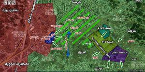 Direnişçiler Harasta'yı Kuşattı, Esed Ordusu ve Rusya Birbirine Düştü!