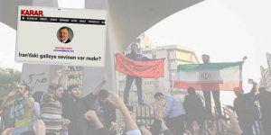 İran'ın Zulmüne Uğrayan Siz Olsaydınız Sevinmez miydiniz?