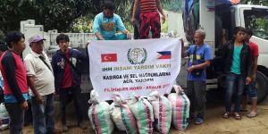 İHH'dan Selin Vurduğu Filipinler'e Acil Yardım