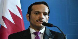 Katar Dışişleri Bakanı Al Sani'den 'İdlib' Tepkisi