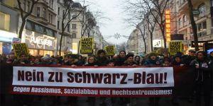 Avusturya'da 60 Bin Kişiden Muhacir Karşıtı Irkçı Hükümete Protesto