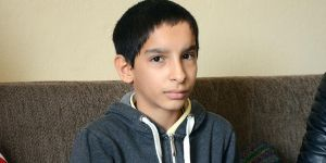 Afganistanlı Çocuğun Kalbine 'Ensar'ın Merhamet Eli Değdi!