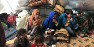 İdlib Halkı Ateş Çemberinde Hayata Tutunmaya Çalışıyor