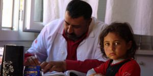 AID Suriye'deki Kamplarda Sağlık Hizmetleri Vermeye Devam Ediyor