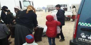 Özgür-Der'den Suriyeli Kardeşlerimize Soba ve Çadır Yardımı