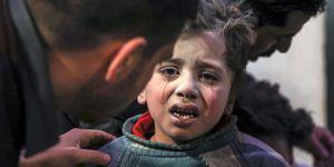 BM'den Doğu Guta Açıklaması: Bombardıman Sürüyor