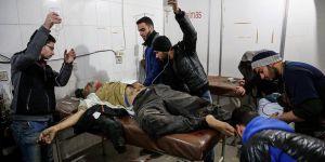 Doğu Guta'da 48 Saatte 167 Sivil Katledildi